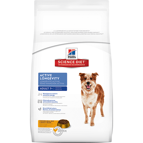 Hill's Science Diet Adult 7+ Active Longevity Original Chicken Dry Dog Food
