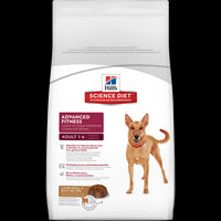 Hill's Science Diet Adult Advanced Fitness Lamb Meal & Rice Recipe Dry Dog Food - 15kg