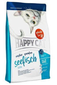 Happy Cat Grainfree Seefisch (Sea Fish) Cat Dry Food (3 Sizes)