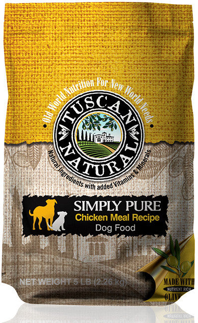 Tuscan Natural Simply Pure Chicken Meal Recipe Dog Food