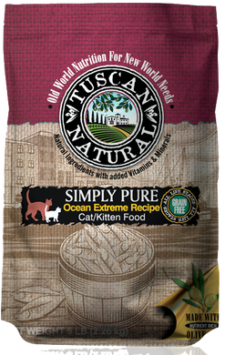 Tuscan Natural Simply Pure Ocean Extreme Recipe Cat/Kitten Food