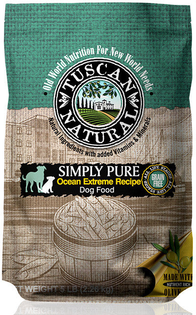 Tuscan Natural Simply Pure Ocean Extreme Recipe Dog Food