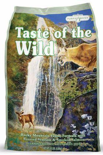Taste Of The Wild Rocky Mountain Feline Formula Dry Cat Food ( 2 Sizes )