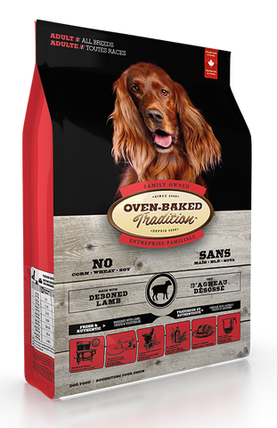 Oven-Baked Tradition Lamb & Brown Rice Dog Dry Food