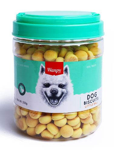 Wanpy Little Ball Biscuits 250g | Waggymeal Online Pet Store Malaysia