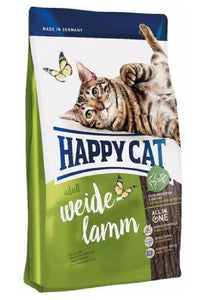 Happy Cat Supreme Weide- Lamm (Farm Lamb) Cat Dry Food (4 Sizes)
