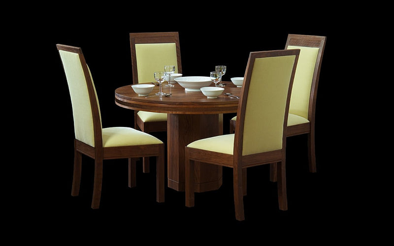MODERN CLASSIC ROUND PEDESTAL DINING TABLE