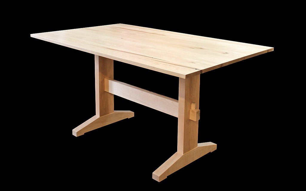 NAKED TRESTLE TABLE