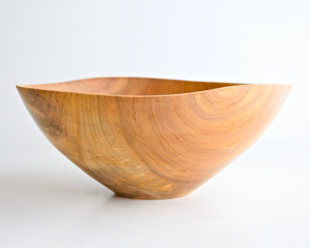 "Maple Turned Bowl 13"" Diam  x 5"" H - ShackletonThomas"