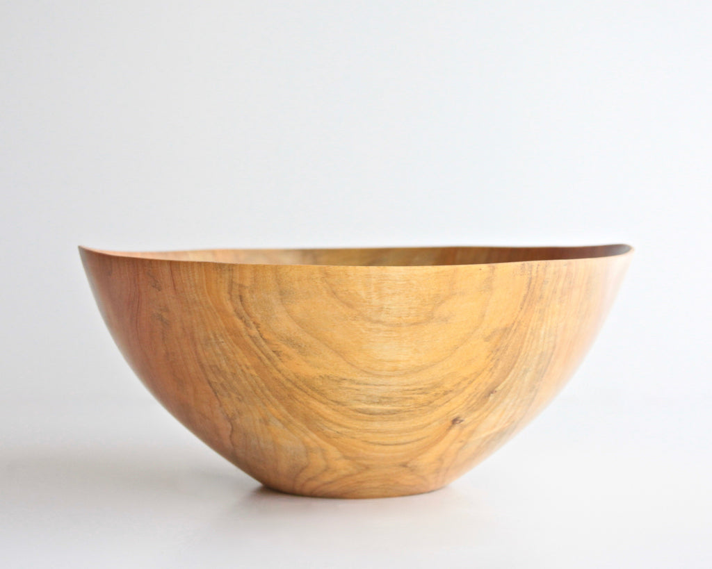 "Maple Turned Bowl 12-1/2"" Diam x 6"" H - ShackletonThomas"