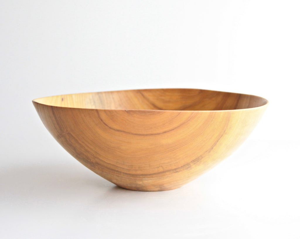 "Maple Turned Bowl 12-1/2"" Diam  x 4-1/2"" H - ShackletonThomas"