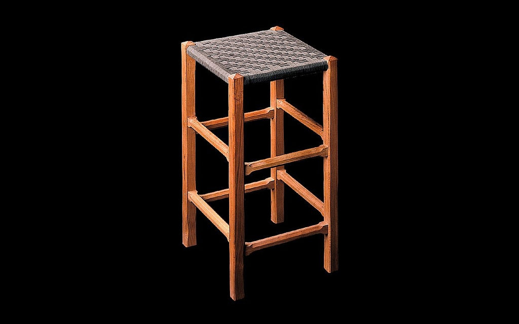 COTTAGE BARSTOOL WITHOUT BACK - ShackletonThomas