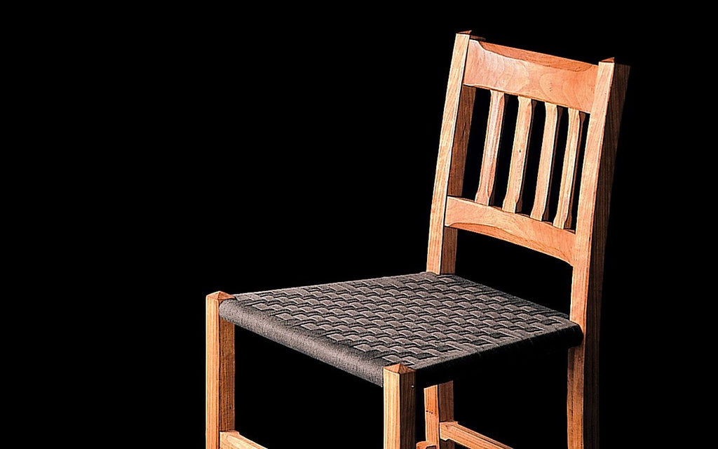 COTTAGE BARSTOOL WITH BACK - ShackletonThomas