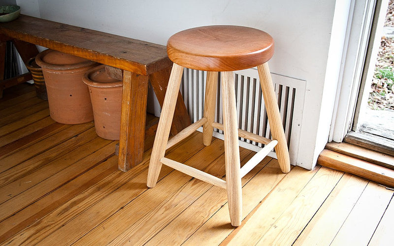 TURNED STOOL