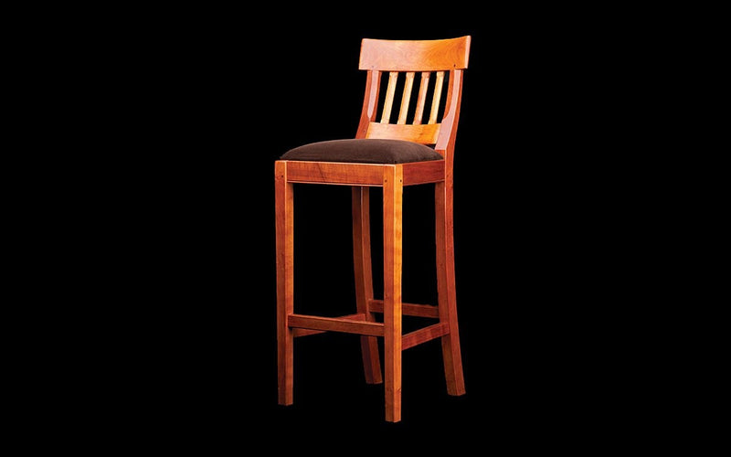 UPHOLSTERED BARSTOOL - ShackletonThomas