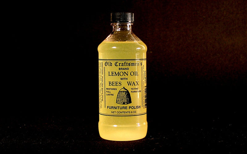 LEMON OIL WITH BEESWAX - ShackletonThomas