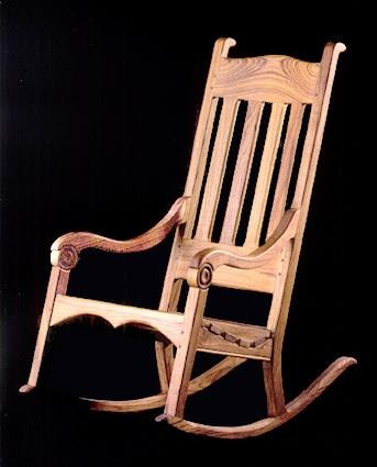TEAK CHICAGO GARDEN ROCKER