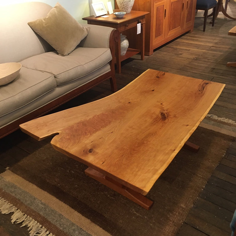 CUSTOM LIVE-EDGE COFFEE TABLE