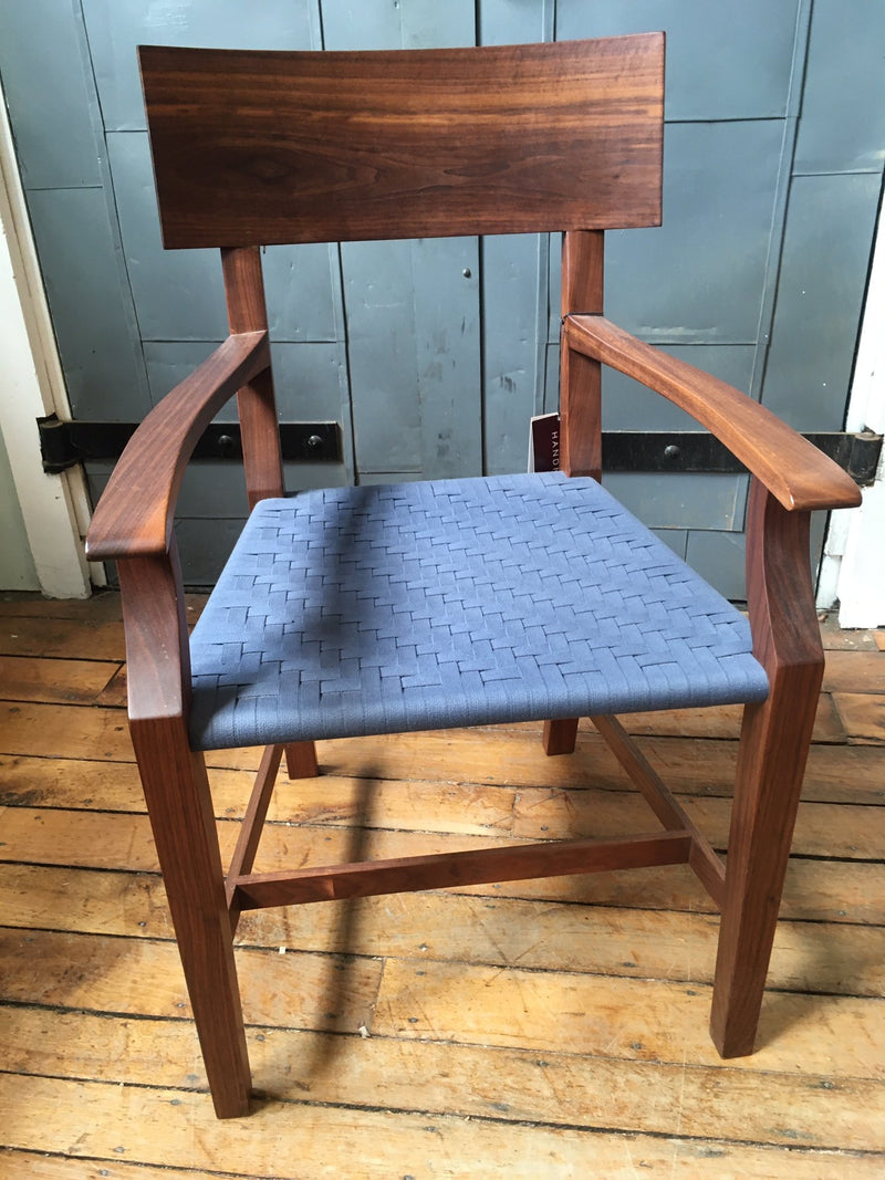 BARE ARM CHAIR IN WALNUT