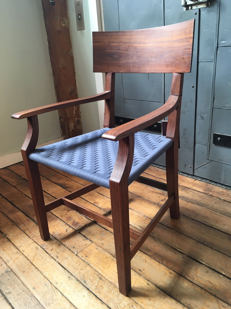 BARE ARM CHAIR IN WALNUT - ShackletonThomas