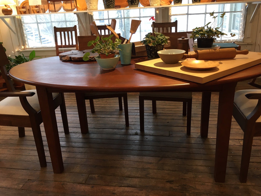 CUSTOM LARGE OVAL DINING TABLE