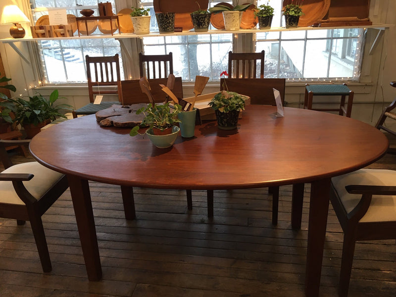 CUSTOM LARGE OVAL DINING TABLE - ShackletonThomas