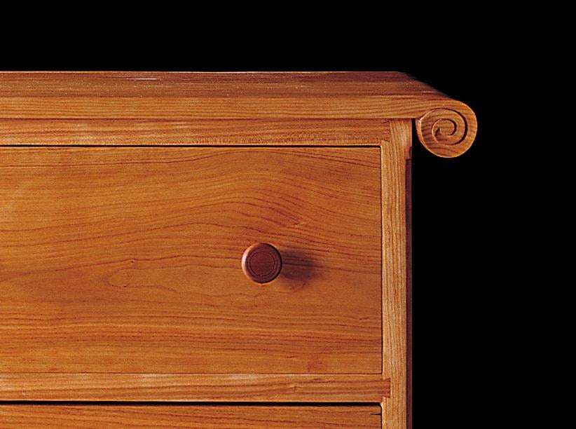 SLEIGH CHEST OF DRAWERS