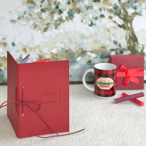 """Merry Christmas"" Card Keeper Kit"