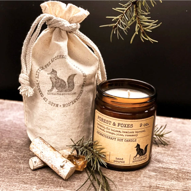 Forest & Foxes soy candle