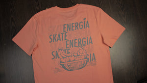 Camiseta Skatenergía Basket Orange
