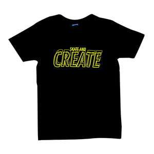 "Camiseta ""Skate and Create"""
