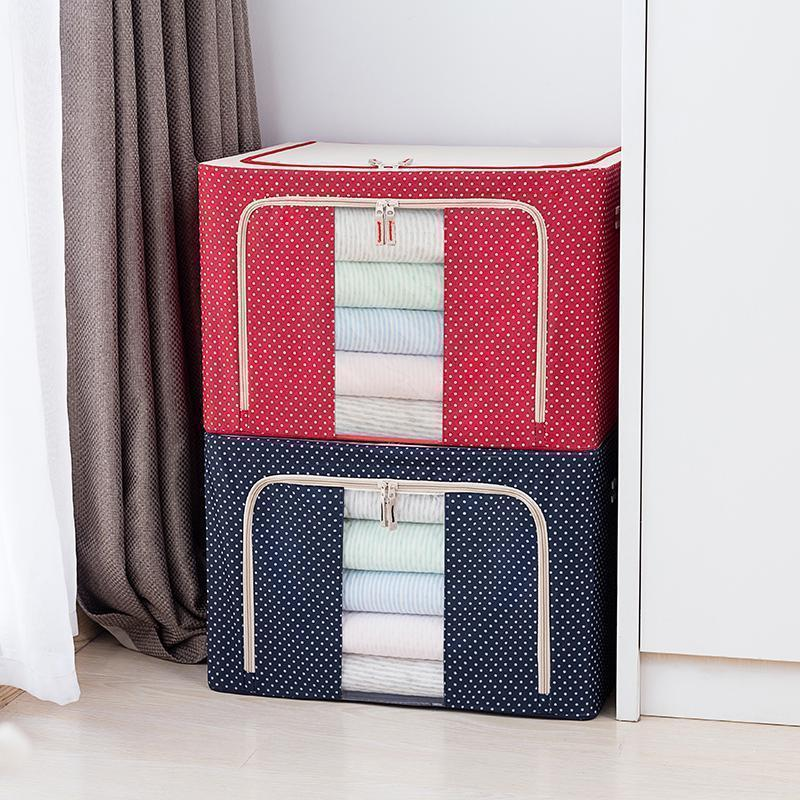 Foldable Storage Bag for Quilts and Clothes
