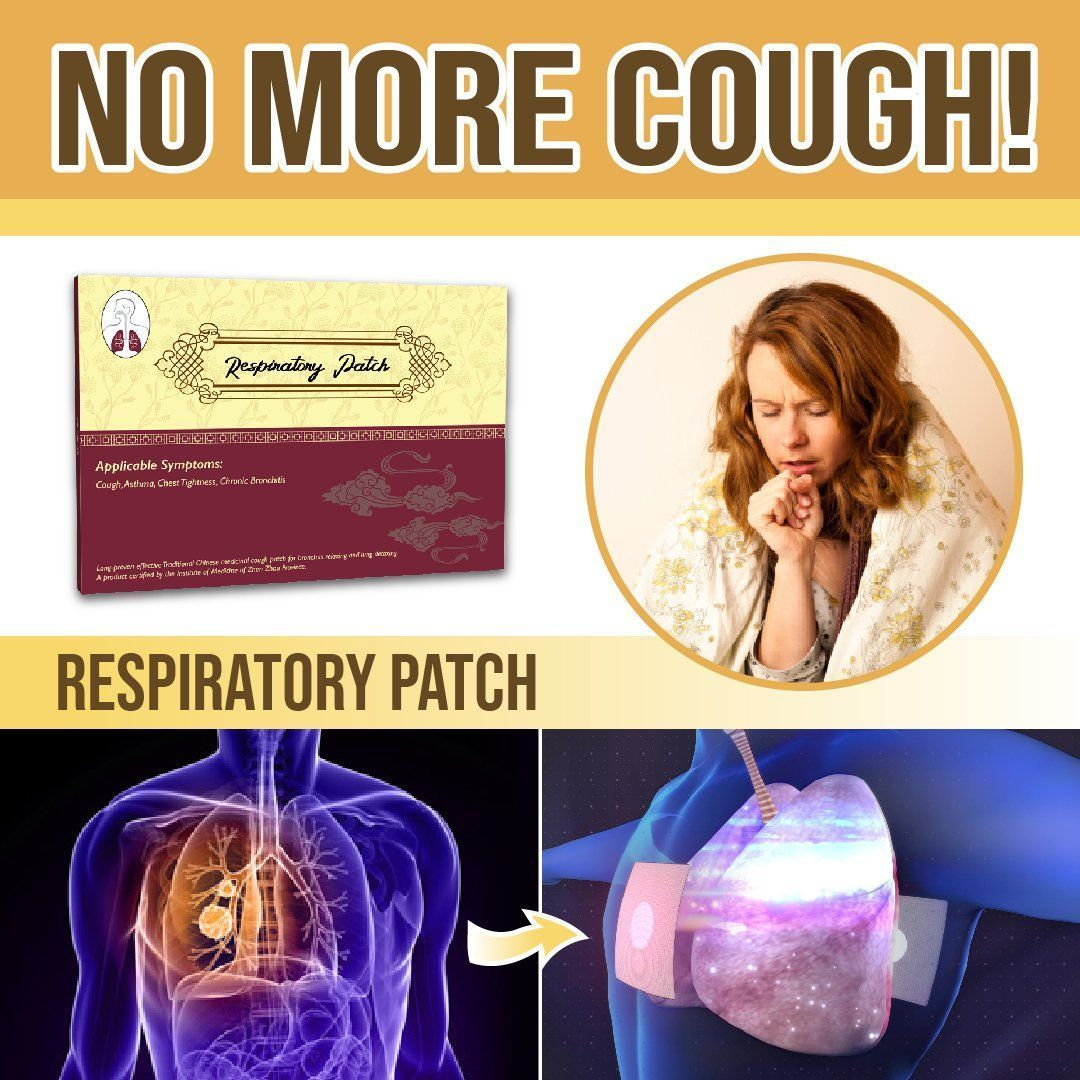 Anti-Cough Chest Patch