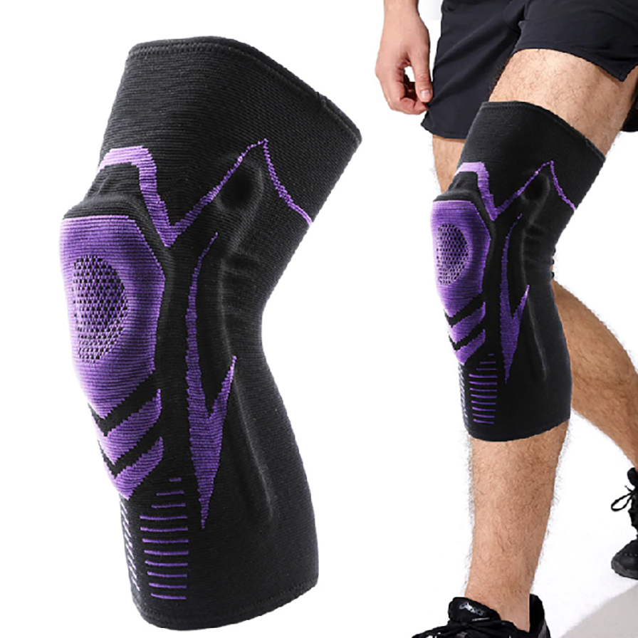 Power Bend Shock Active Knee Support