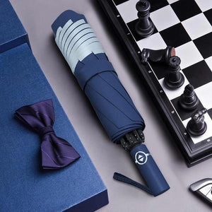 Foldable Reversible Automatic Umbrella (Reflective Strips)