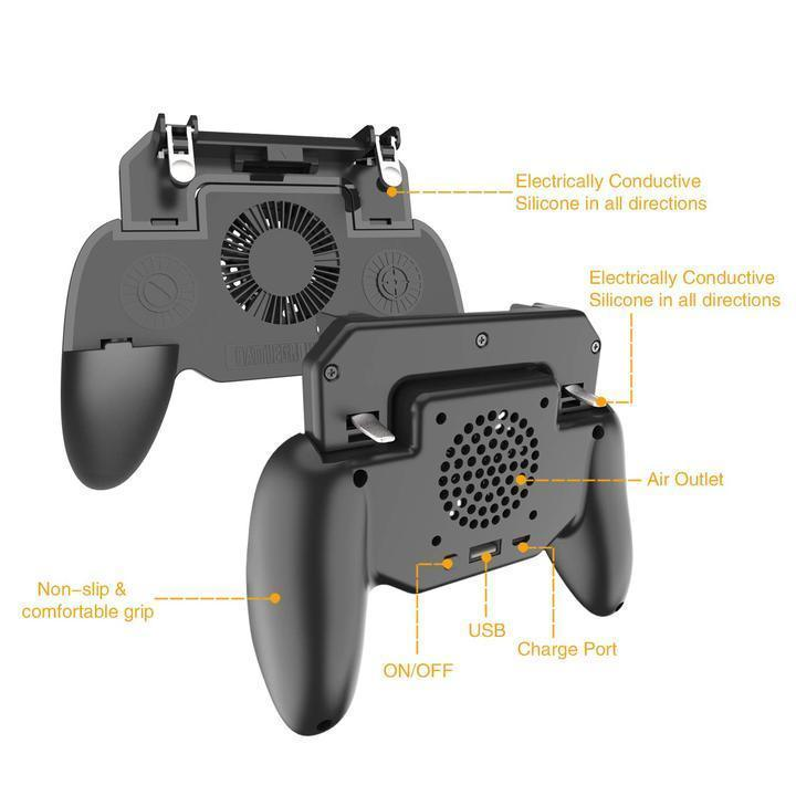 Mobile Gamepad with Powerbank