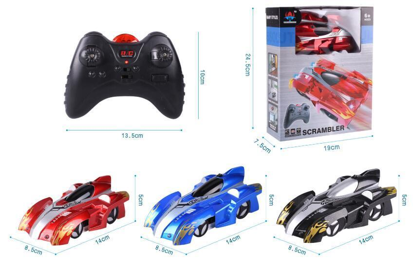 Wall Climbing RC Car Remote Control Anti Gravity