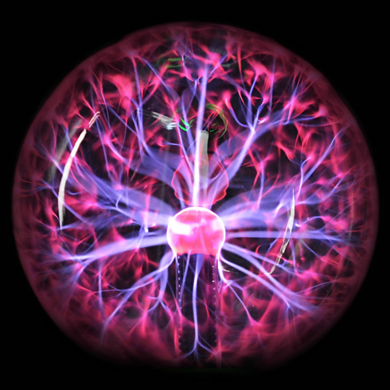 Crystal Plasma Ball