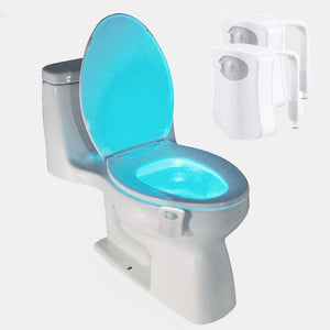 Motion Sensored Toilet Seat LED Light