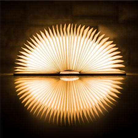 Creative Book Shaped Wooden Lamp