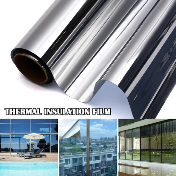 Anti-glare anti-peeping heat insulation film