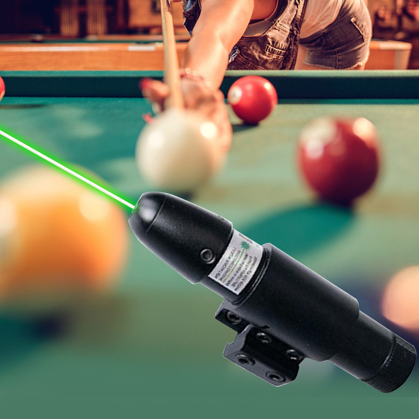 Snooker Cue Pointer