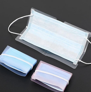 Portable Mask Storage Clip