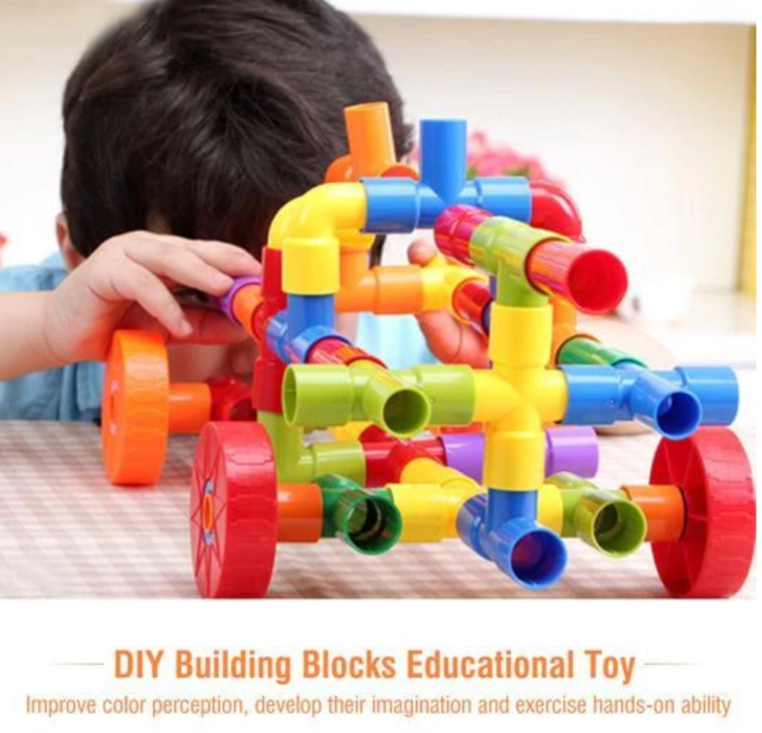 Pipe Building Blocks Toy