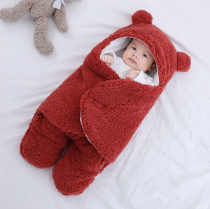 Ultra-Soft Fluffy Baby Sleeping Bag