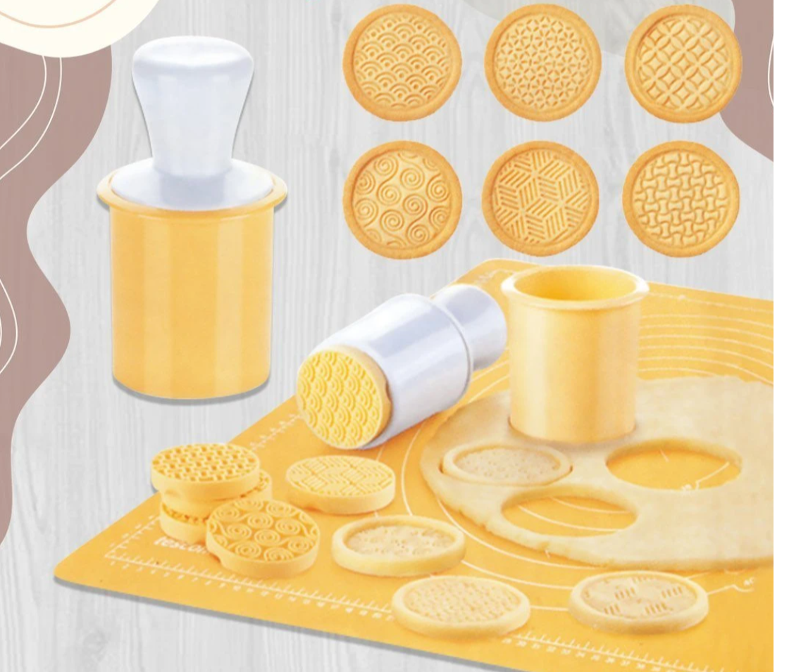 Decorating Cookie Stamp Set