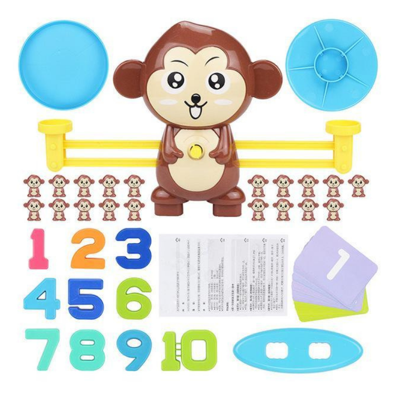 Monkey Math Game