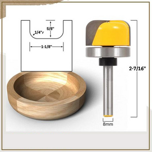 Bowl Template Router Bit