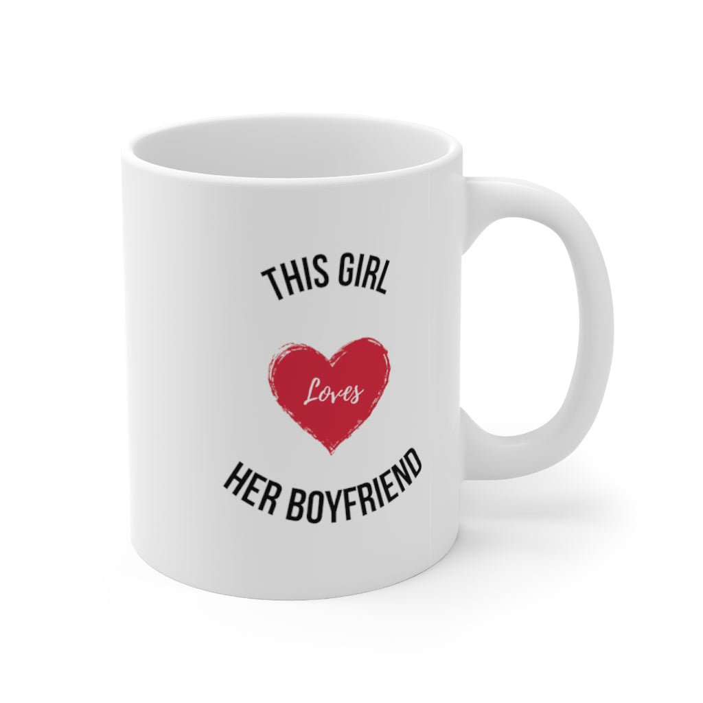 I Love My Boyfriend - Mug 11oz