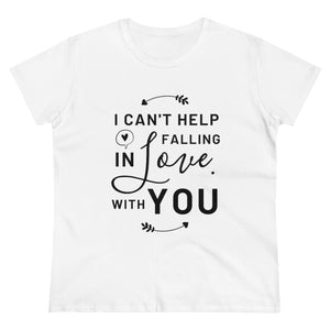 Falling In Love - Women's Heavy Cotton Tee